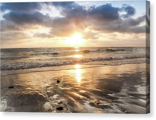 Rock 'n Sunset Canvas Print