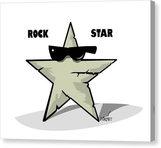 Rock Star Canvas Print