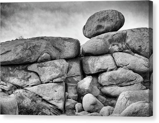 Canvas Print featuring the photograph Rock Steady by Jon Exley