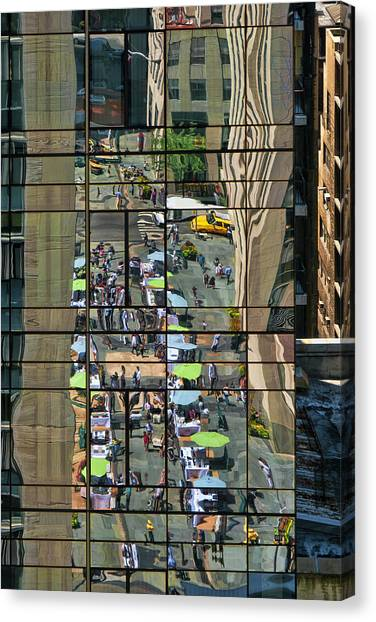 Rock Street Fair Canvas Print