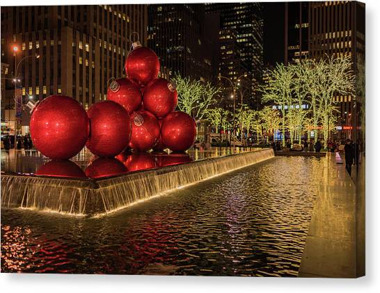 Rockefeller Center  Canvas Print