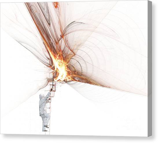 Rocket Propulsion Ignition Canvas Print