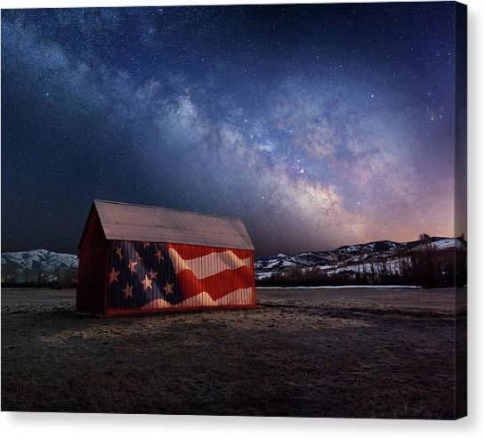 Proof Through The Night Canvas Print