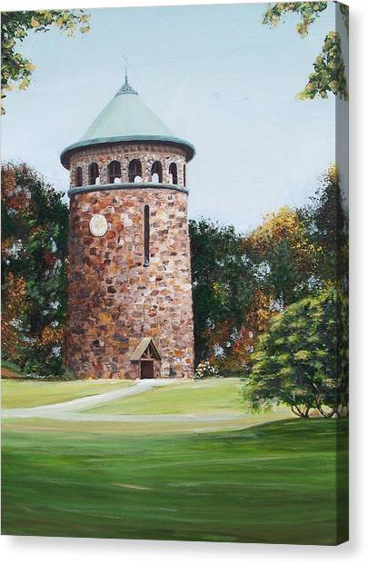 Rockford Tower Canvas Print