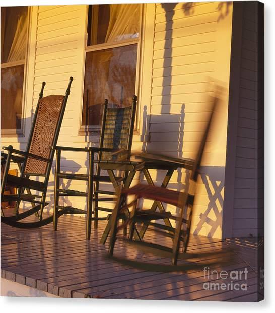 Rocking Chair Canvas Print