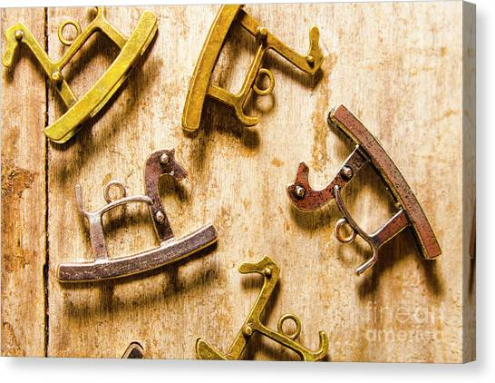 Rocker Canvas Print - Rocking Horses Art by Jorgo Photography - Wall Art Gallery