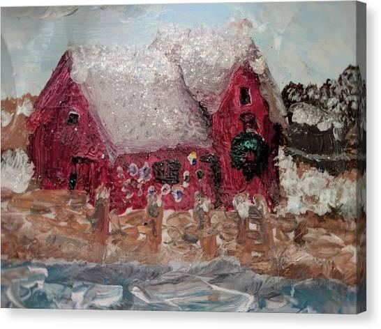 Rockport Christmas 1 Canvas Print