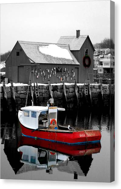Rockport Canvas Print