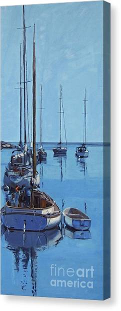 Rockport Blues Canvas Print