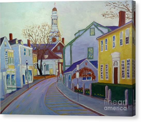 Rockport  Mass Canvas Print