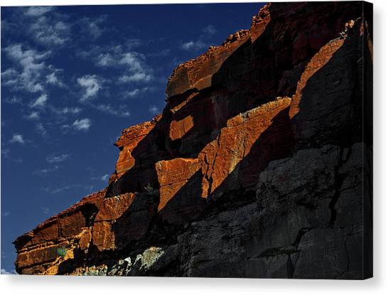 Sky And Rocks Canvas Print