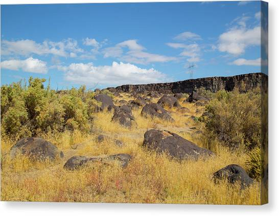 Rocks Celebration Park Idaho Canvas Print