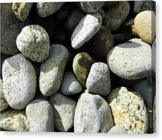 Canvas Print - Rocks by Palzattila