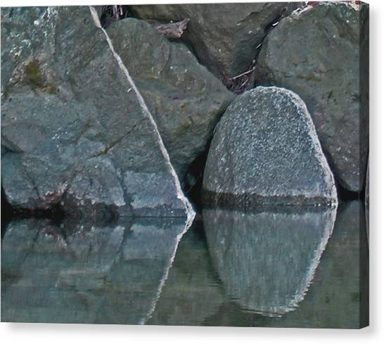 Rocks Canvas Print by Wilbur Young