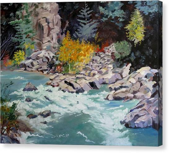 Rocky Bend Canvas Print
