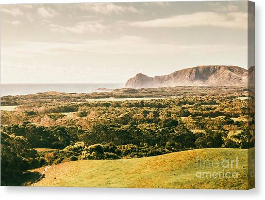 Mountain Cliffs Canvas Print - Rocky Capes And Rugged Coasts by Jorgo Photography - Wall Art Gallery
