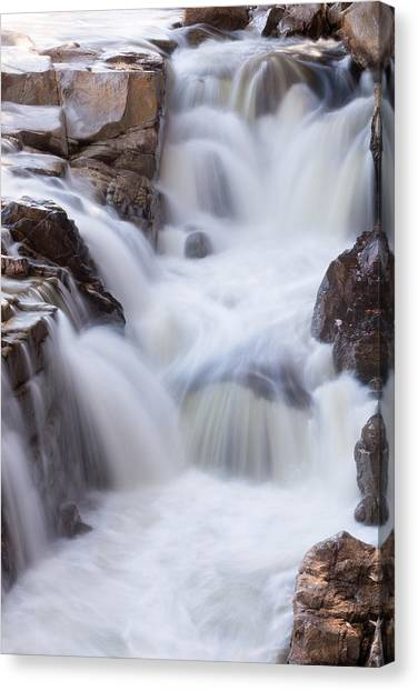 Rocky Gorge Falls Canvas Print