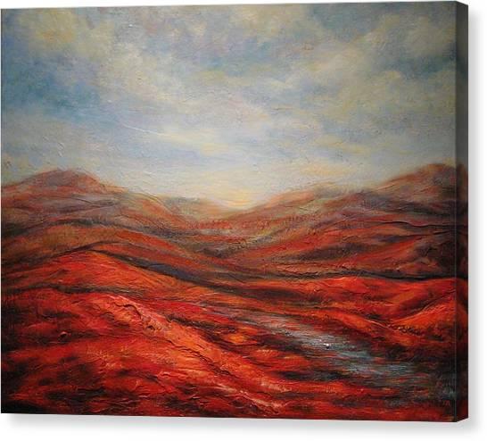 Rocky Hills Canvas Print