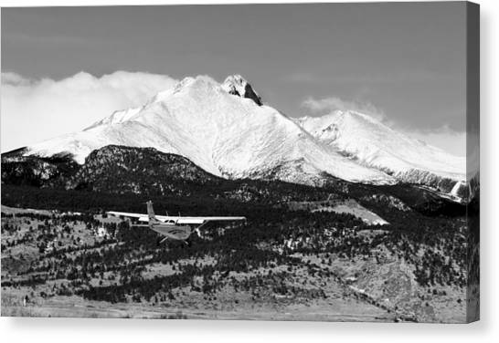 Cessnas Canvas Print - Rocky Mountain Flying  by James BO Insogna