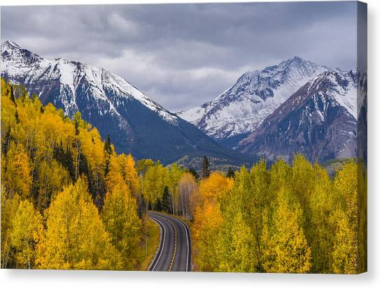 Rocky Mountain Hwy Canvas Print