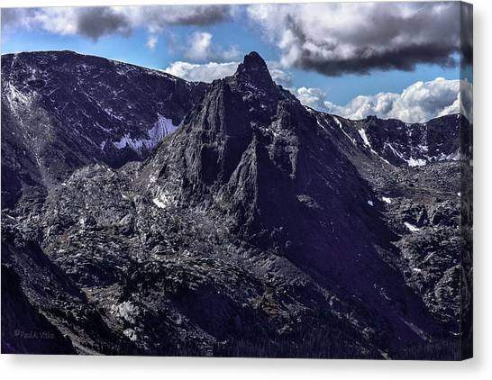 Rocky Mountain National Park Colorado Canvas Print