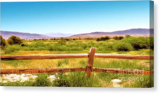 Rocky Mountain Ranch Canvas Print