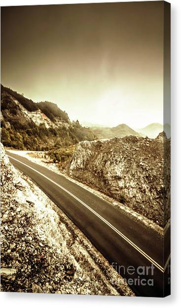 Tourism Canvas Print - Rocky Mountain Roads by Jorgo Photography - Wall Art Gallery
