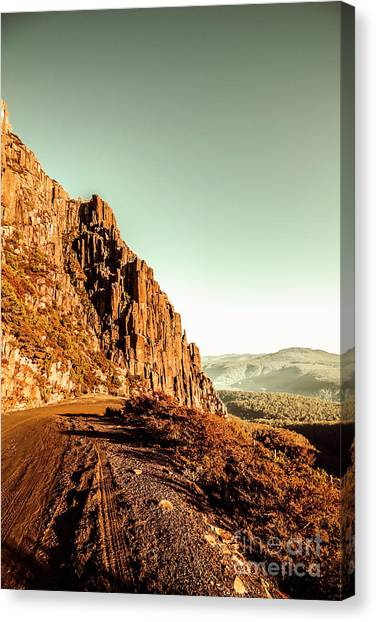 Geology Canvas Print - Rocky Mountain Route by Jorgo Photography - Wall Art Gallery