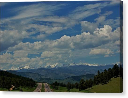 Colorado Rocky Mountain High Canvas Print