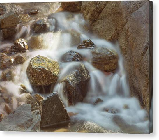 Rocky Water Canvas Print