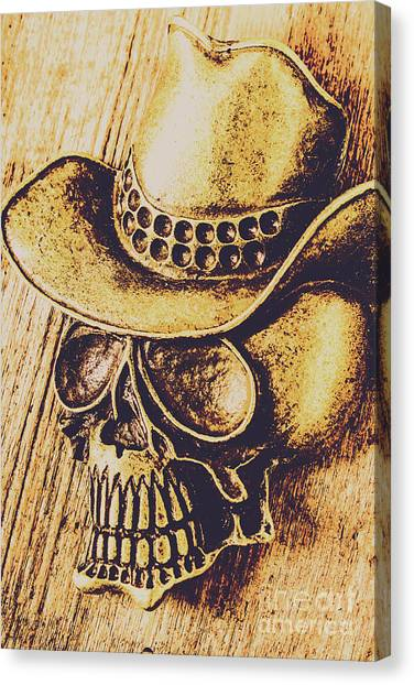 Rodeos Canvas Print - Rodeo Spook by Jorgo Photography - Wall Art Gallery
