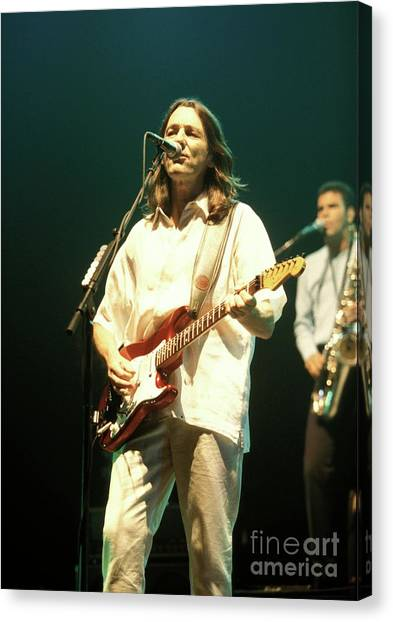 Ringo Starr Canvas Print - Roger Hodgson by Concert Photos