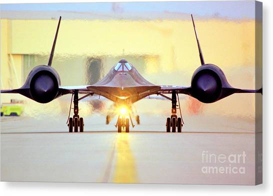 Roger That - Sr71 Jet Canvas Print