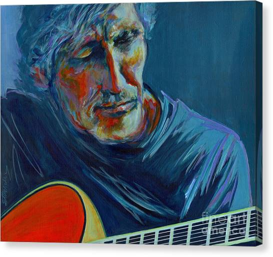 Roger Waters. Do You Think You Can Tell  Canvas Print