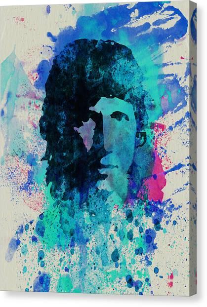 Pink Floyd Canvas Print - Roger Waters by Naxart Studio