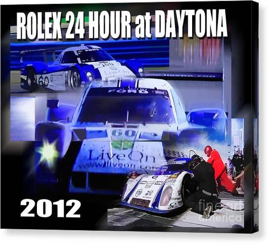 Rolex Daytona Canvas Print