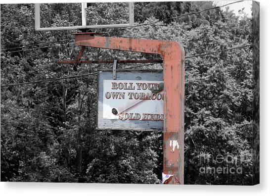 Roll Your Own  Canvas Print by Steven Digman