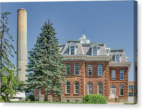 University Of Missouri Canvas Print - Rolla Building - Missouri University Of Science And Technology by Nikolyn McDonald