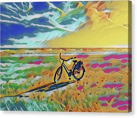 Rollin' Away Canvas Print