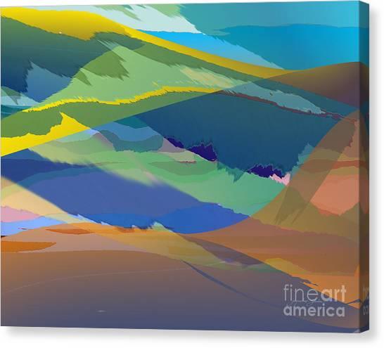 Rolling Hills Landscape Canvas Print