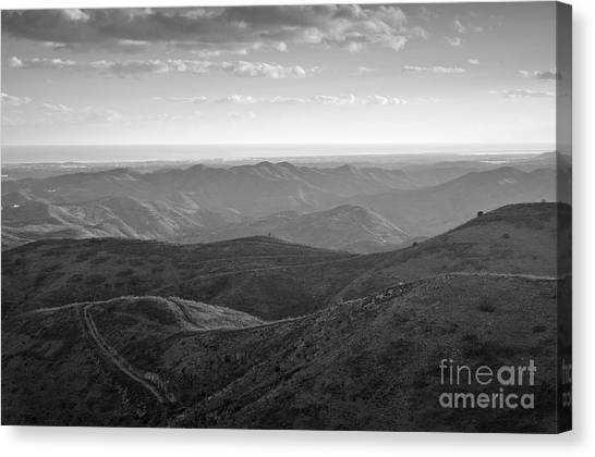 Rolling Mountain Canvas Print