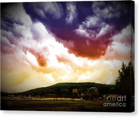 Rolling Thunder Canvas Print