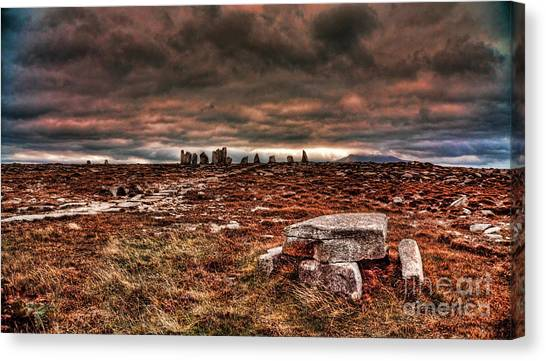 Rolling Thunder Canvas Print by Kim Shatwell-Irishphotographer