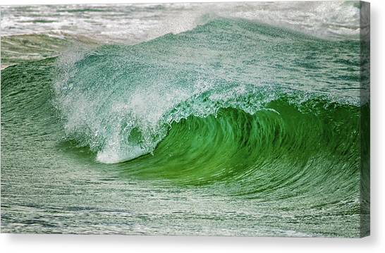 Tsunamis Canvas Print - Rolling Wave by Stelios Kleanthous
