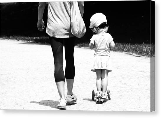 Rolling With Moms Canvas Print