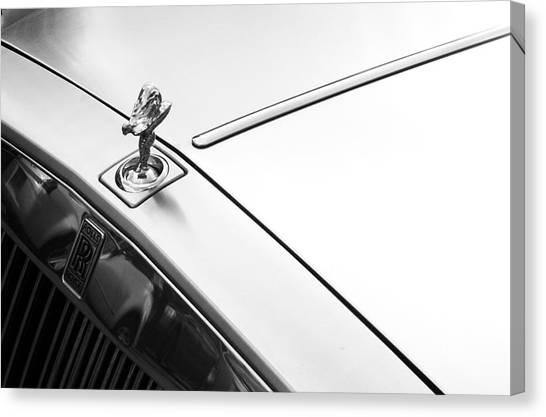 Rolls Royce 1 Canvas Print by Jez C Self