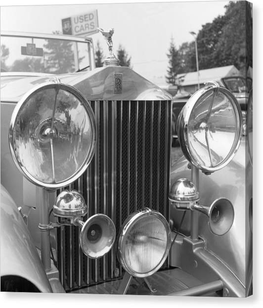 Rolls Royce A1 Used Car Canvas Print by Richard Singleton