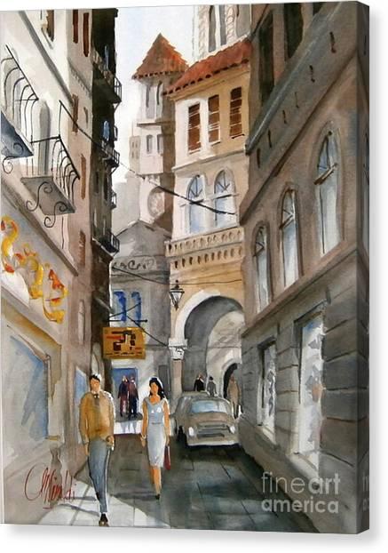 Roma 01 Canvas Print