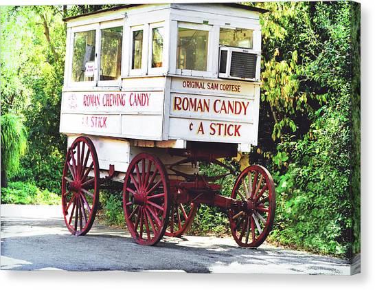 Roman Candy Canvas Print