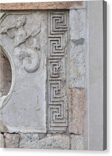 Roman Art Canvas Print - Roman City by Gaia Acaya